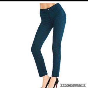 JBrand Skinny Leg Riviera Green/Blue Jean's 29X29